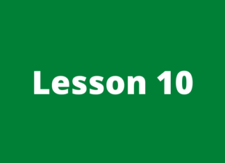 Forex course lesson 10