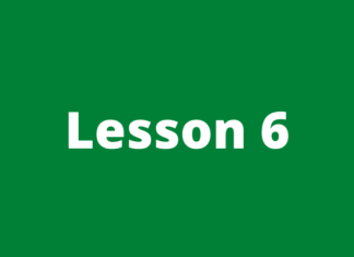 Forex course lesson 6