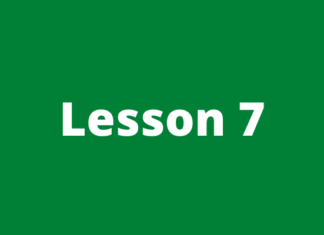Forex course lesson 7