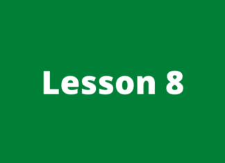 Forex course lesson 8