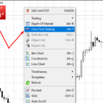 One click trading in MT5