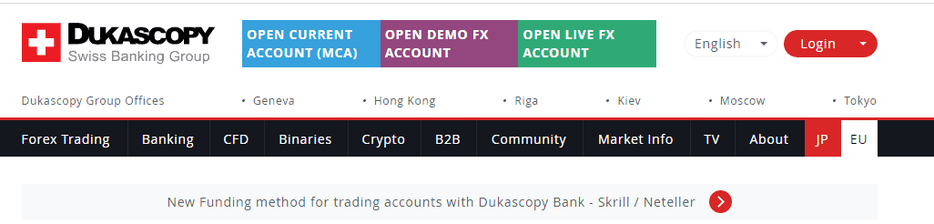 is dukascopy scam