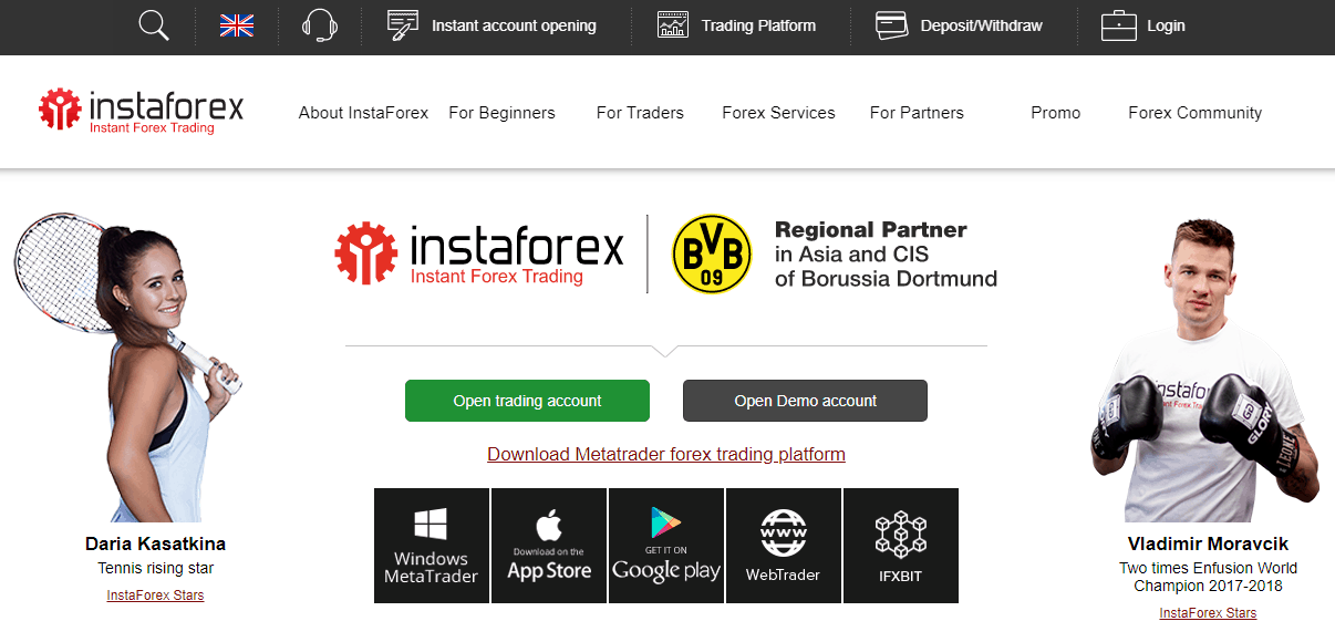 is instaforex scam