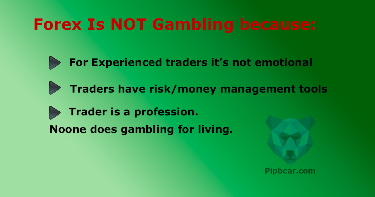 forex and gambling
