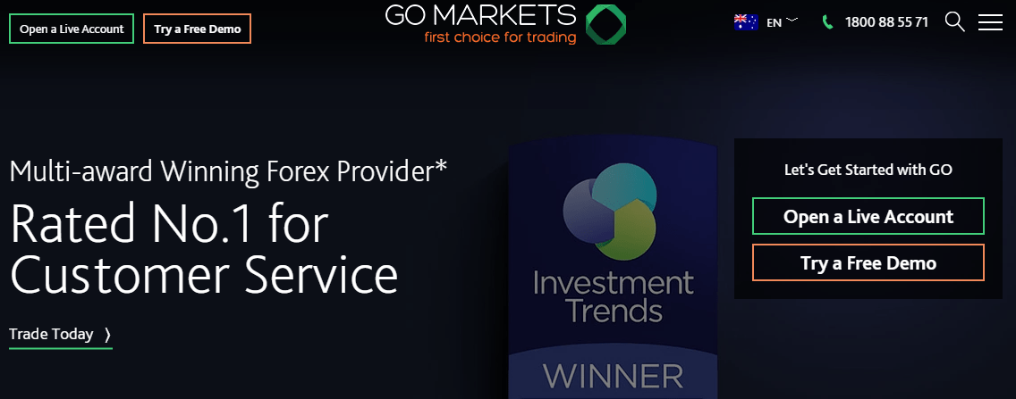Go Markets broker review