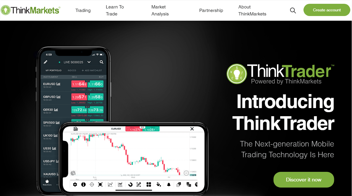 ThinkMarkets Broker Review